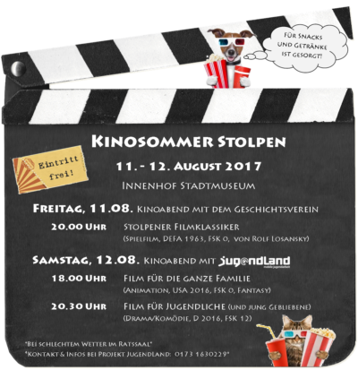 Open Air Kinospaß in Stolpen